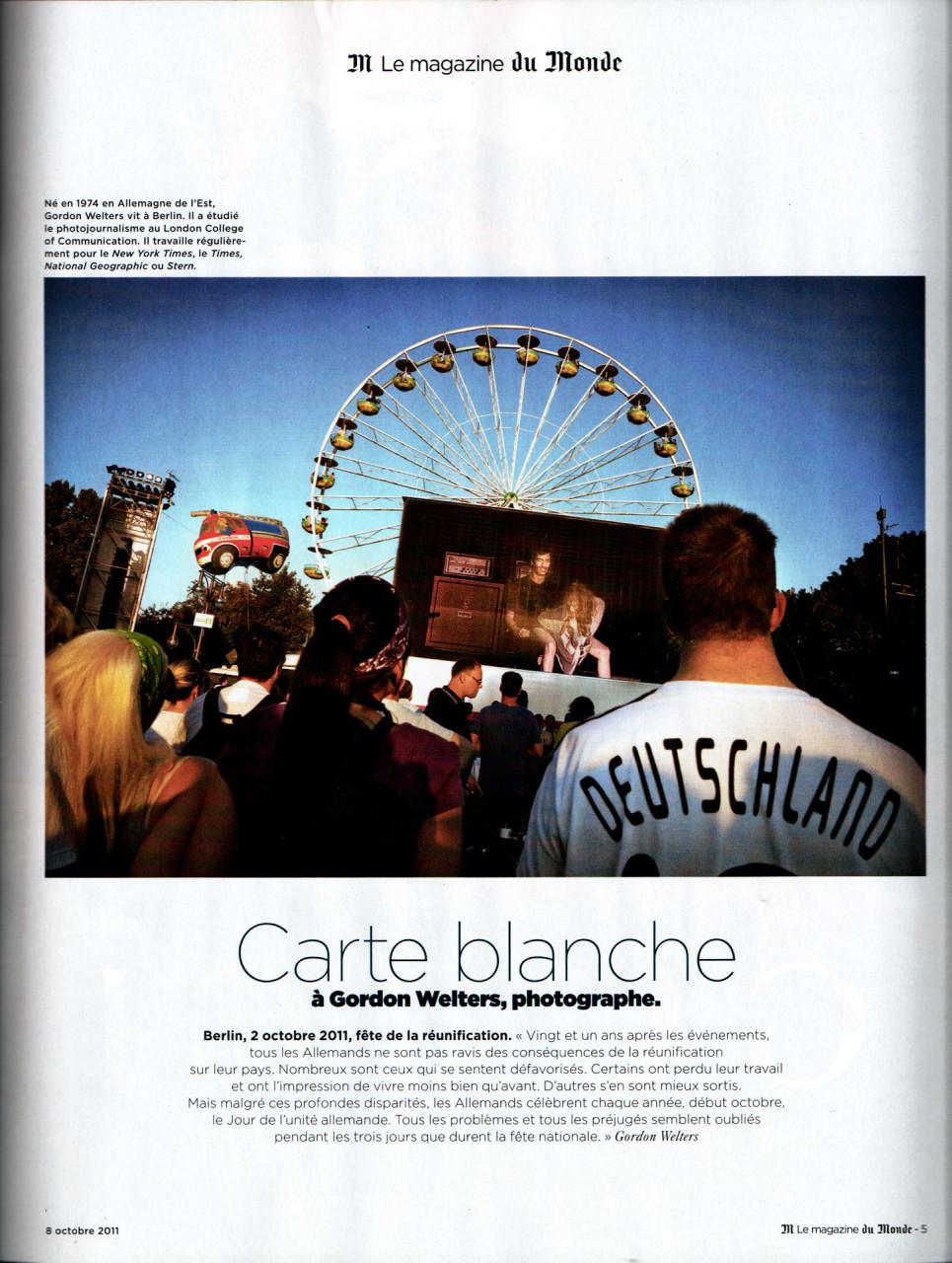 M – le magazine du Monde